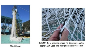 Teijin and Kinoshita Fishing Net Develop World's First Fishing Net Made with UHMWPE Film