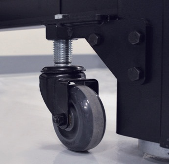 Cleanbench With Gimbal Piston Vibration Isolation From