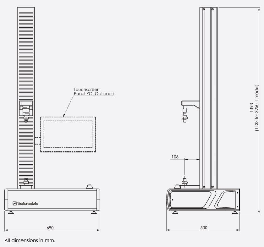 Testometric X250-3 AT Materials Testing Machine : Quote, RFQ