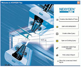 NEXYGENPlus Data Analysis and Materials Testing Software