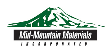 Mid-Mountain Materials, Inc. logo.