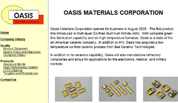 Oasis Materials Corporation