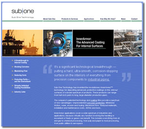 Sub-One Technology - Pipe and Tube Coatings