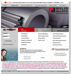 Rolled Alloys : Quotes, Address, Contact