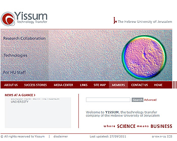 Yissum Research Development Company of the Hebrew University of Jerusalem