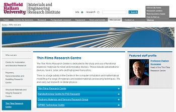 MERI Thin Films Research Centre