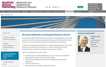 MERI Structural Materials and Integrity Research Centre