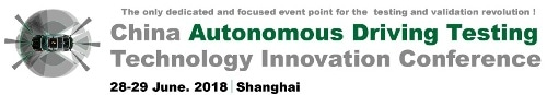 China Autonomous Driving Testing Technology Innovation Conference 2018