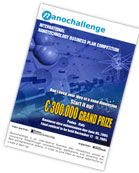 Competition to Aid Innovative Nanotechnology Startups