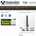 Guided Tour of Thwing-Albert's New Website