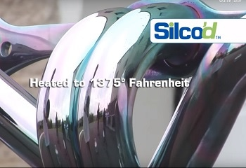 Demonstration of Heat Resistance of silicon coating from SilcoTek