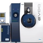 EVOQ LCMS triple quadrupole at Pittcon 2013 with Meredith Conoley, Bruker CAM