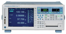 WT3000 Precision Power Analyzer from Yokogawa