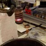 Heating Titanium Nuts with Ambrell Induction Heating System
