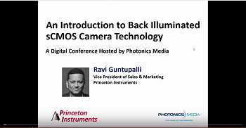 An Introduction to Back Illuminated sCMOS Cameras
