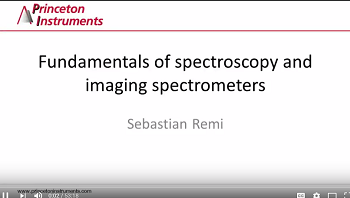 Fundamentals of Spectroscopy and Imaging Spectrometers