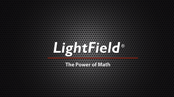 LightField The Power of Math with Princeton Instruments