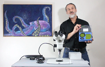 Adding Fluorescence to a Conventional Stereo Microscope