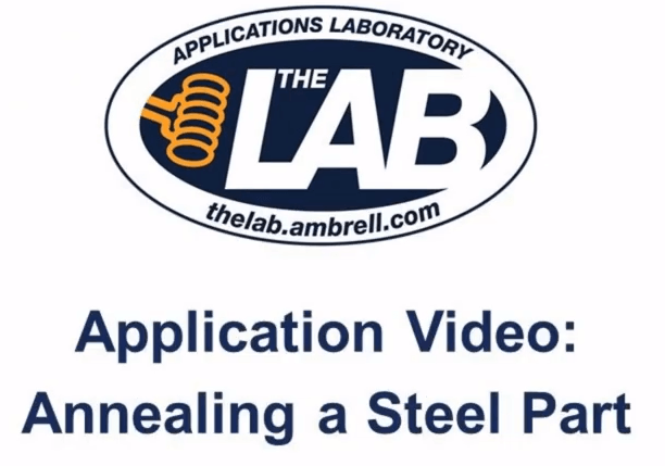 Annealing a Steel Part with Induction Heating