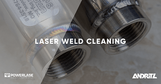 Weld Laser Cleaning with Vulcan | Andritz Powerlase