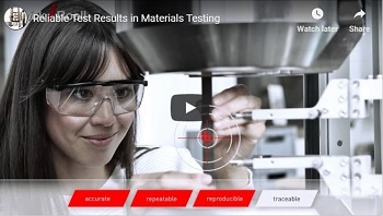 Reliable Test Results in Materials Testing