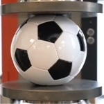 Compression Test on a Football / Soccer Ball