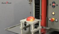 Demonstration of Texture Analysis of Apples Using Materials Testing Machine by Zwick