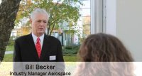 Interview with Bill Becker, Industry Manager Aerospace of Zwick USA - Part 1