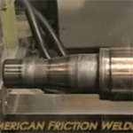 Joining a Trailer Axle by Friction Welding