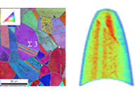 Elemental Microstructural Analysis - Combining structure and chemistry from cm to atoms: EBSD combined with EDS and APT