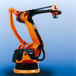AZoM - The A to Z of Materials - The Kuka Robotics KR 100 PA Palletizing Robot made from carbon fibre reinforced composite