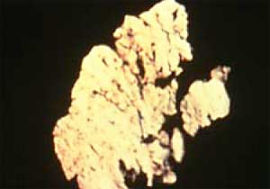 Sample of Fatigue Spall Particle