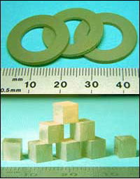 AZoM - Metals, ceramics, polymers and composites - Machined piezoelectric single crystals.