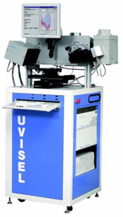 UVISEL: Spectroscopic Phase Modulated Ellipsometer